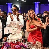 The couple were all smiles at Clive Davis's pre-Grammy gala in January 2020.