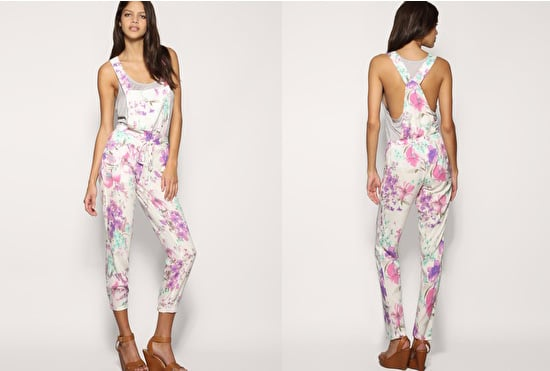 Floral Dungarees at ASOS for Spring 2010