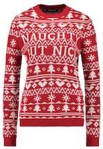 Fashion Union Christmas Naughty but Nice Jumper