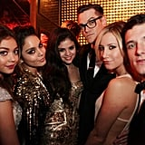 Sarah Hyland, Vanessa Hudgens, Selena Gomez, Ashley Tisdale, and Josh Hutcherson