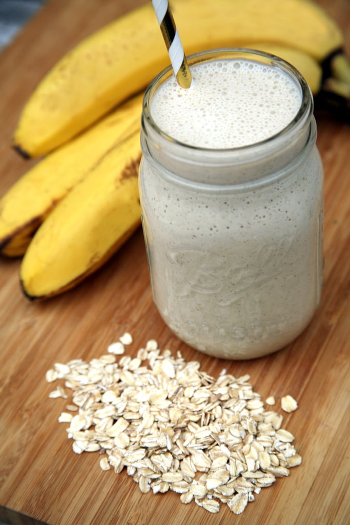 Banana Cream Overnight Oats Smoothie