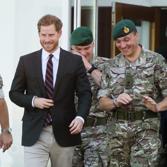 Prince Harry Visits the Royal Marines September 2018