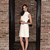 Gal looked classic in cream at the Gucci Bamboo Fragrance launch.