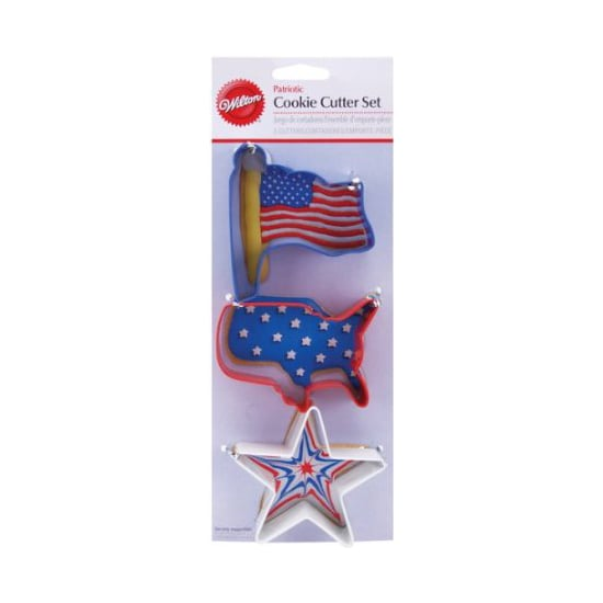 Patriotic Metal Cookie Cutters