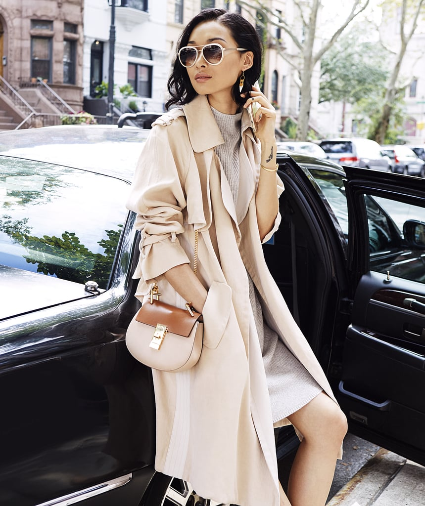 A Trench Coat For In-Between Seasons