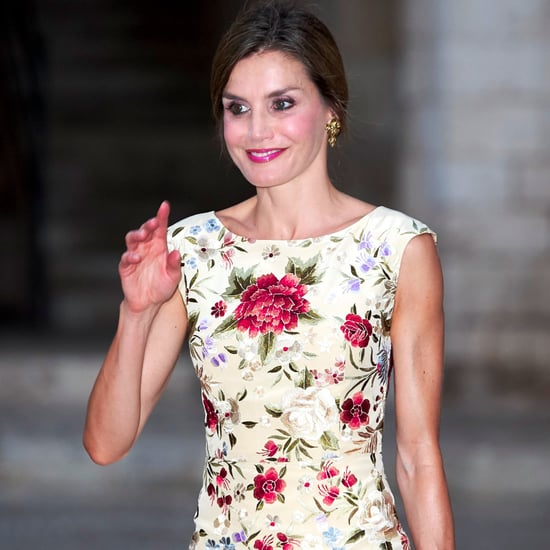 Queen Letizia Floral Dress August 2017