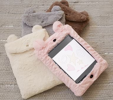 Faux Fur Animal iPad Case