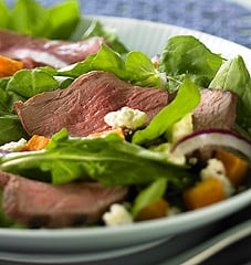 Monday's Leftovers: Lamb Salad with Sweet Potatoes