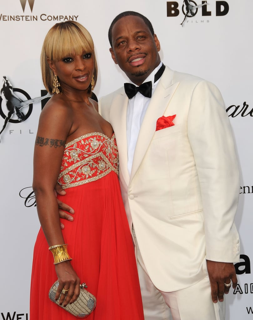 Mary J. Blige and Kendu Isaacs in 2008