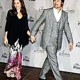 Brad Pitt und Angelina Jolie beim Santa Barbara International Film Festival 2008.