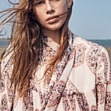 """Kaia on how modeling has changed her life: """"It has given me the chance to meet such incredible people. Living in Malibu is like being in a bubble, so discovering others that are so different from me has been incredibly gratifying. I've watched [my mom] be nothing but kind to everyone on set, from the photographer to the caterer."""" Kaia on her strong family resemblance: """"When I look at my mom, aside from physical features (of course), we share many of the same mannerisms. I notice it when looking back on past videos of her. I don't know if it's genetic, or something I've just caught onto, but our actions mimic one another."""""""