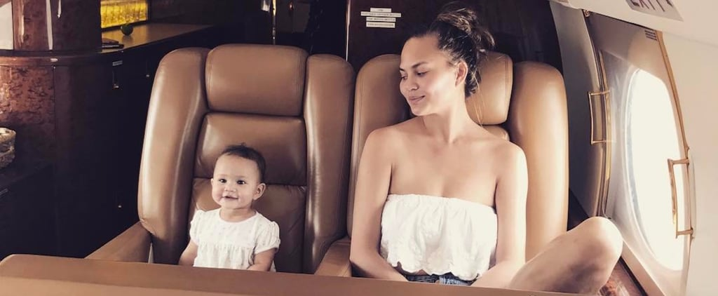 Chrissy Teigen and John Legend Are Having a Blast in St. Barts With Baby Luna