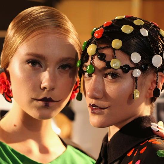 2012 MBFWA Gail Sorronda Spring Summer Makeup Look Channels 1920s Charm