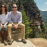 6.9: Magnitude of the earthquake that hit India during the tour.  7: Total amount of days spent on tour.  11: Members in Kate and Will's entourage.