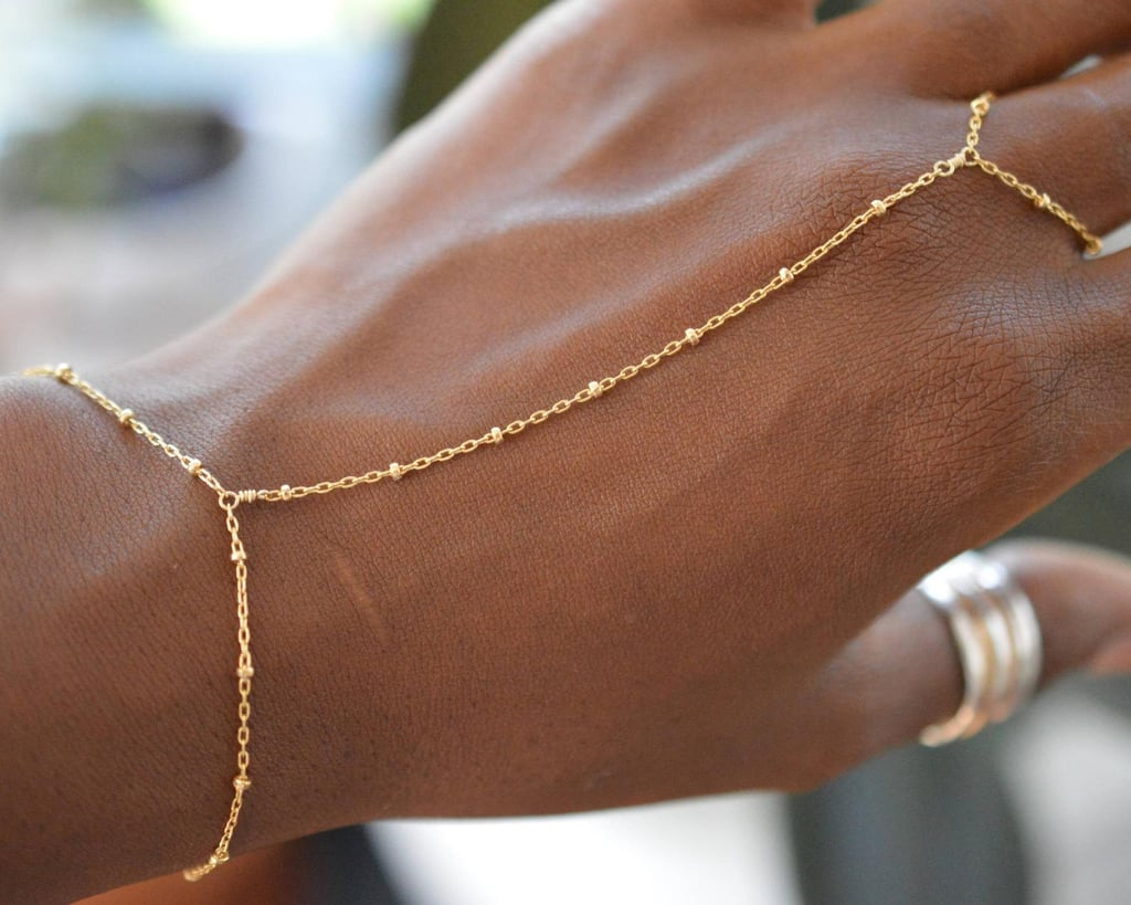 Gold Hand Chain