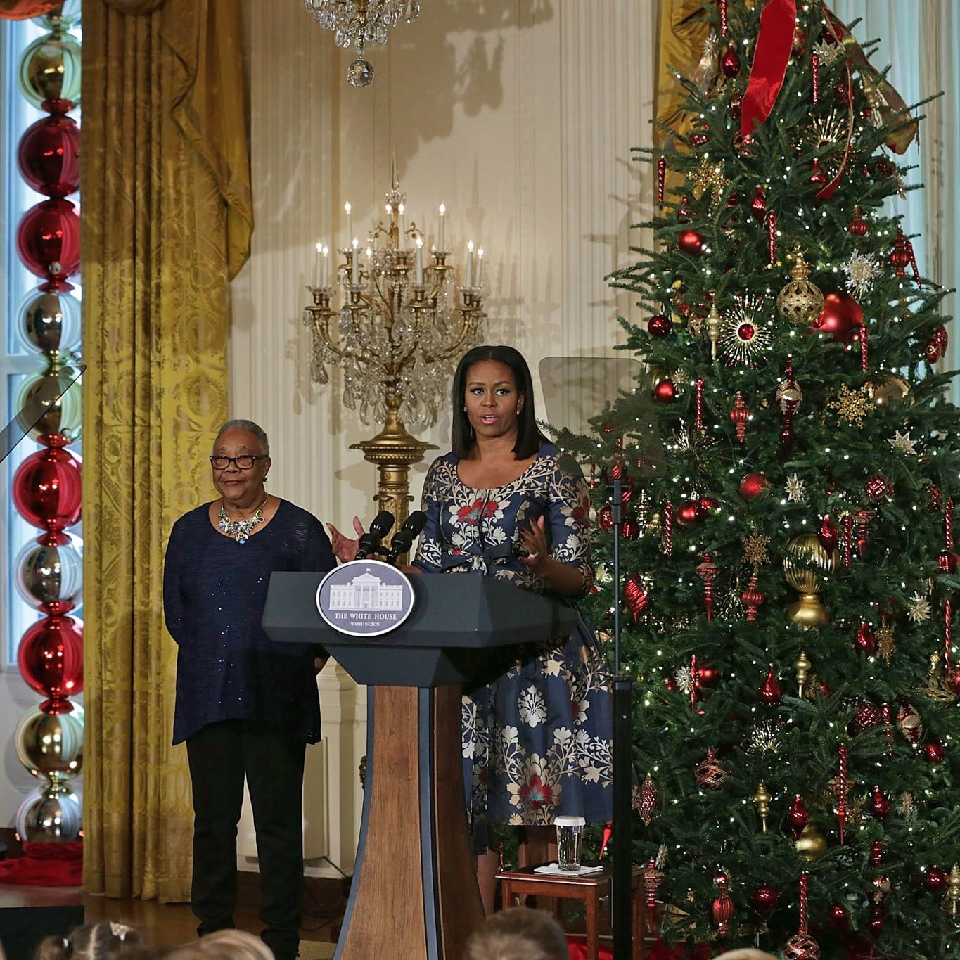 white house holiday decorations 2016 popsugar home australia