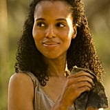 Kerry Washington in Django Unchained.