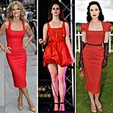 Channel standout celebrity style and get yourself a red dress.