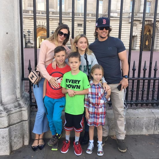 Instagram Photos of Mark Wahlberg and His Kids