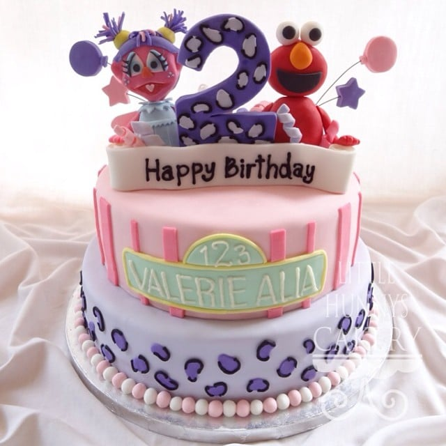 Abby and Elmo Girls Birthday Cakes POPSUGAR Moms Photo 12