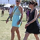 Busy Philipps had a laugh with friends at Coachella's second weekend.