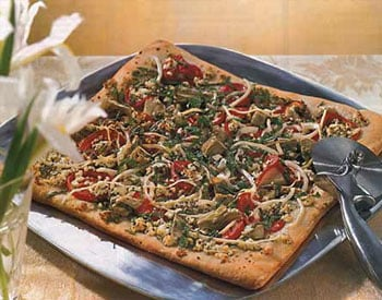 Today's Special: Artichoke & Feta Cheese Pizza