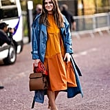 The Fall Dress Trend: Bright Colors