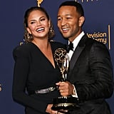 John hit a major Emmy milestone with his EGOT win in September 2018, and Chrissy was right there to celebrate with him.