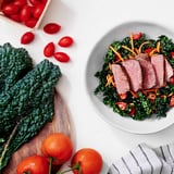 Kale-Carrot Salad With Steak and Balsamic-Mustard Dressing
