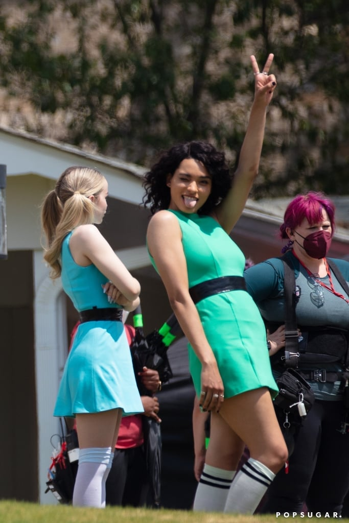 The Powerpuff Girls Live-Action TV Reboot Set Pictures