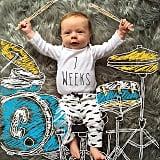 """I wanna ROCK-a-bye baby! #7weeks"""