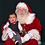 This highly authentic Santa looks wonderful, on the upside.