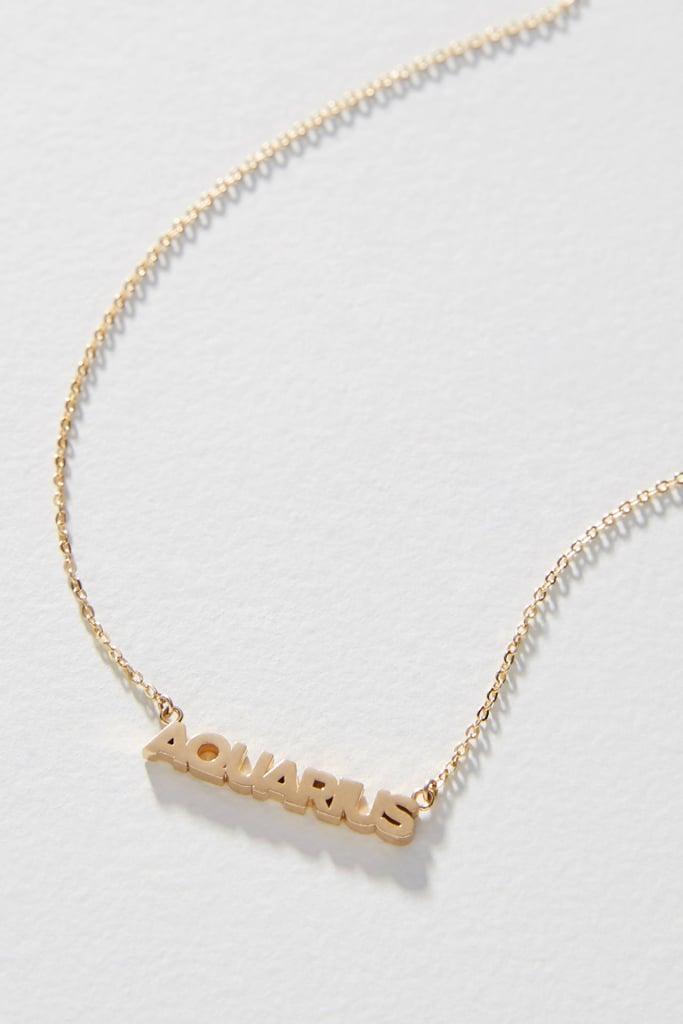Zodiac 14K Gold-Plated Necklace