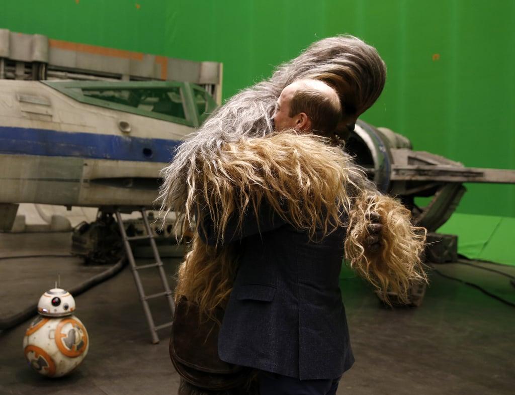 Hugging Chewbacca