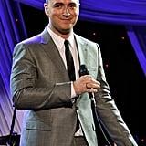 Sam Smith performed at Clive Davis's gala.