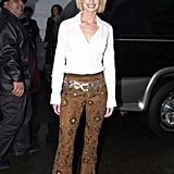 Faith Hill at the 2001 American Music Awards