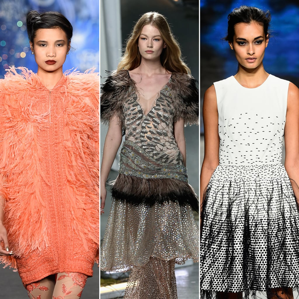 Feathers Fall 2015 Fashion Trend