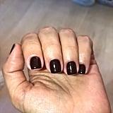 Kim Kardashian's Dark Nail Polish Colour