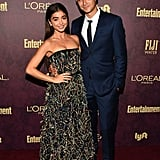 Sarah Hyland and Wells Adams Anniversary Pictures 2018