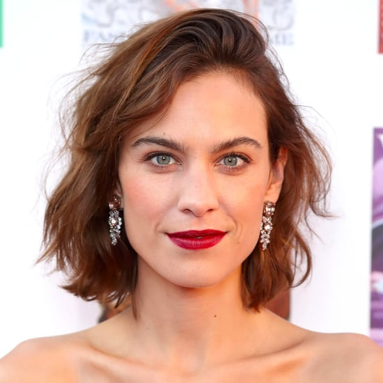 Alexa Chung Hair and Makeup Looks