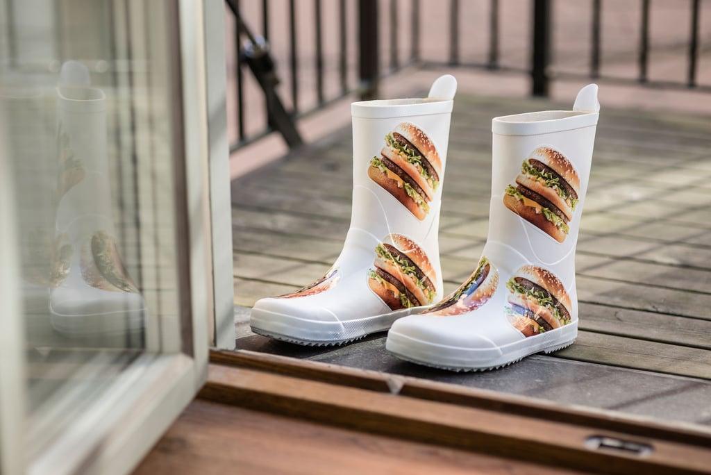 adbb0385e81 Rain Boots   McDonald's Big Mac Clothing Pictures   POPSUGAR Food ...