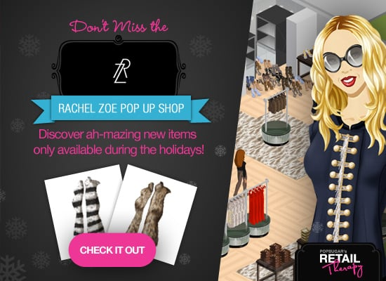 PopSugar's Retail Therapy Rachel Zoe Pop-Up Shop