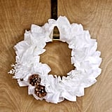 Coffee-Filter Wreath