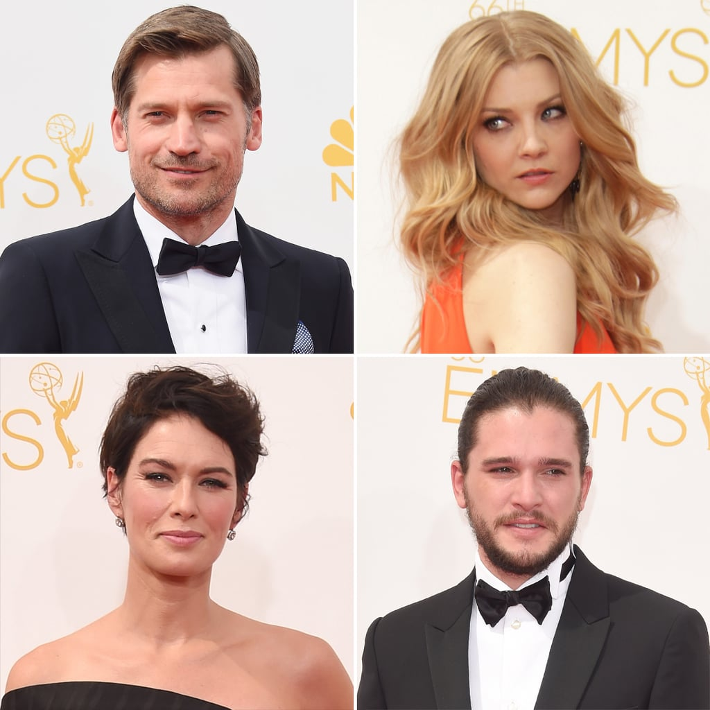 The Game of Thrones Cast at the 2014 Emmy Awards