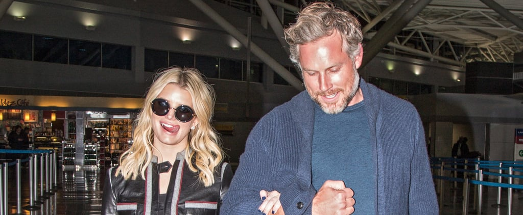 Jessica Simpson and Eric Johnson Look So in Love While Arriving in NYC