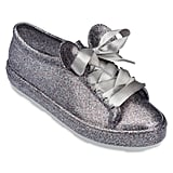 Mickey Mouse Sneakers For Women by Melissa Shoes — Silver ($125)