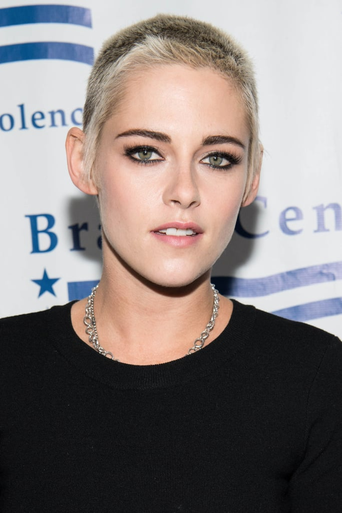 Kristen Stewart Has New '90s-Inspired Frosted Tips