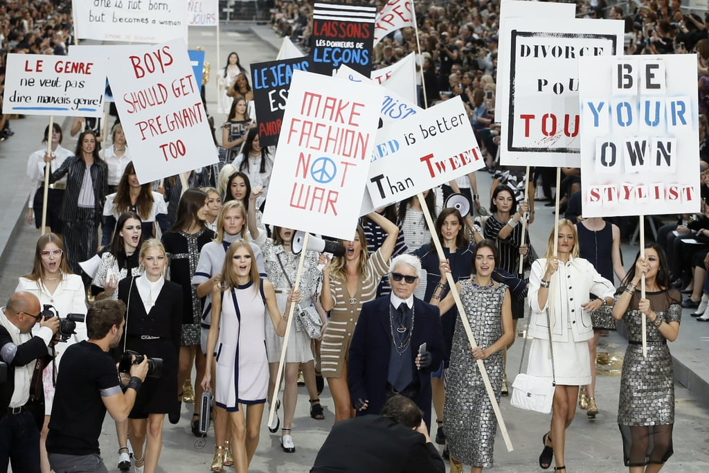 A Very Fashionable Protest, Spring/Summer 2015