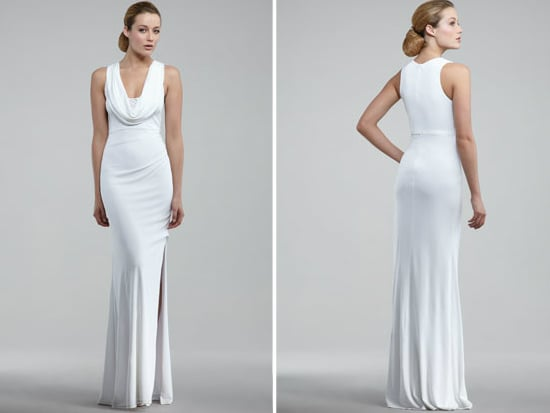 David Meister Cowl-Neck Gown ($590)