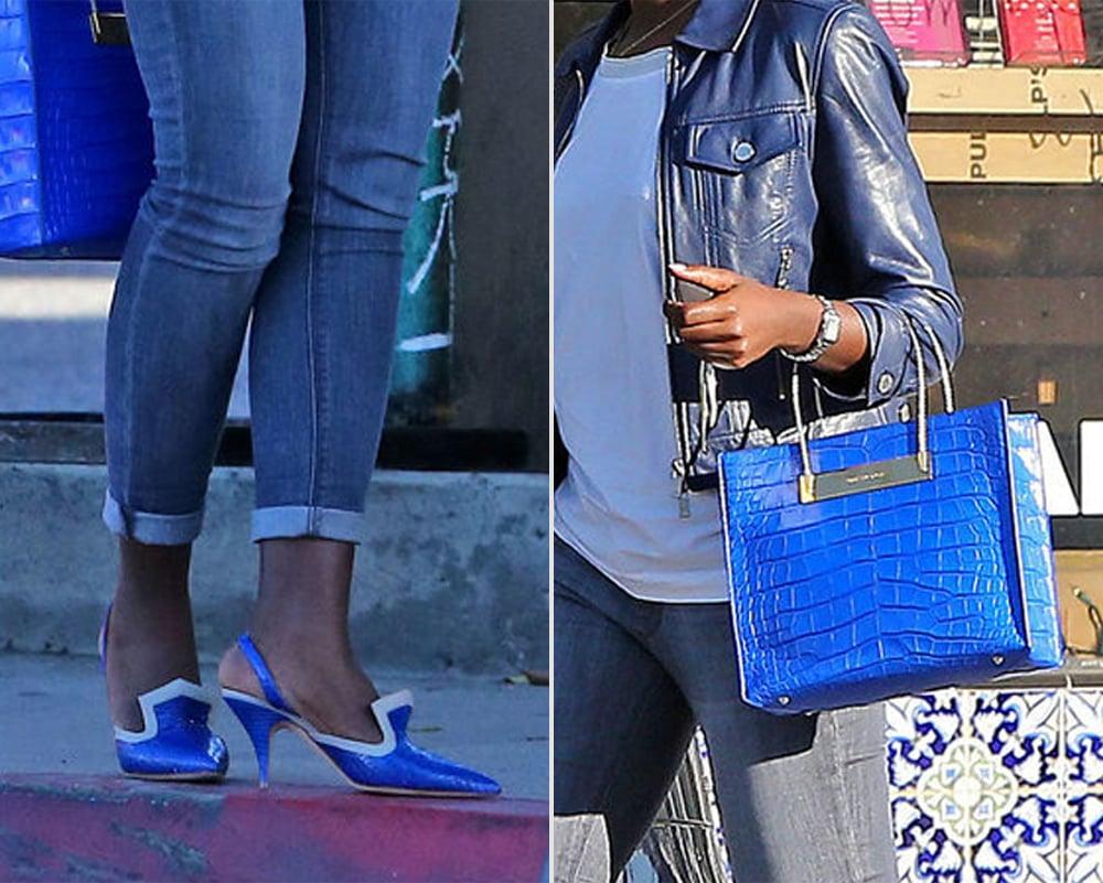 Lupita Nyong'o Street Style | POPSUGAR Fashion